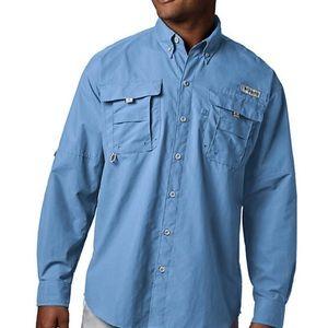 Button down Columbia PFG long sleeve shirt